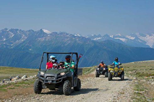 Canoe Mountain ATVing