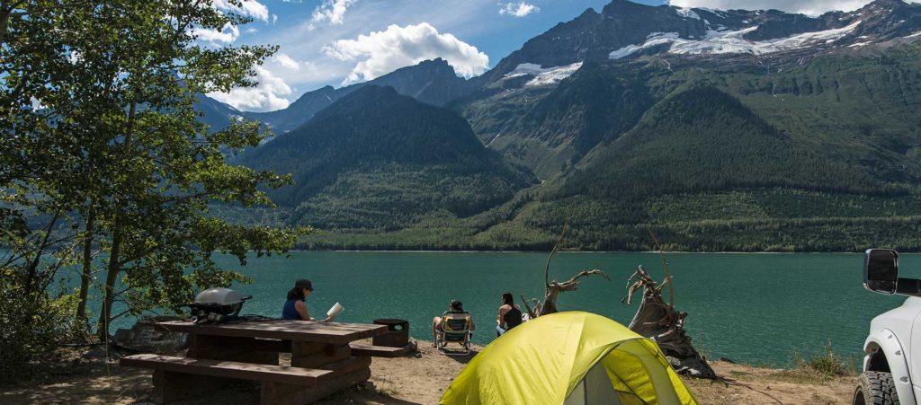 Valemount camping