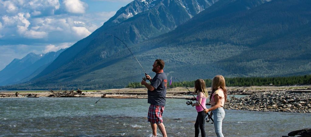 Fishing in Valemount