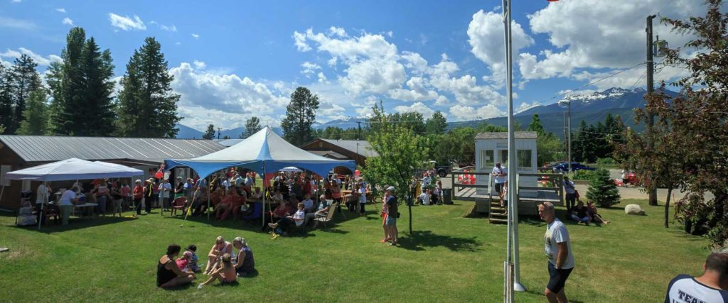 Arts and Culture, Valemount, BC, outdoor market