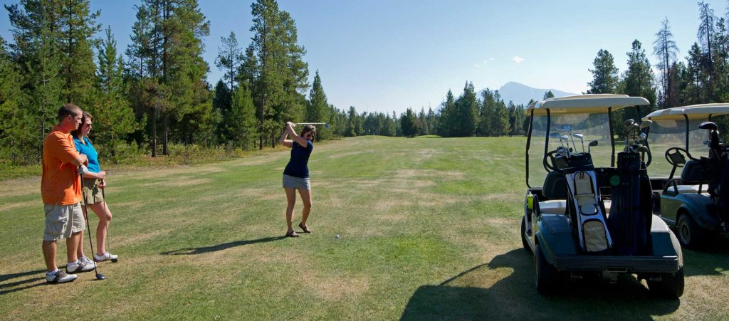 Valemount golf opportunities