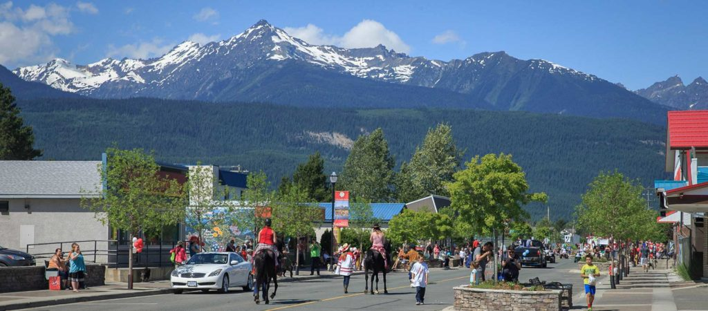 Downtown Valemount Canada Day