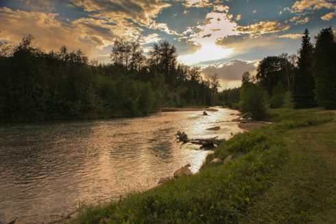 Great rivers and streams for fishing