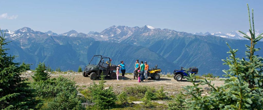 ATVing in Valemount