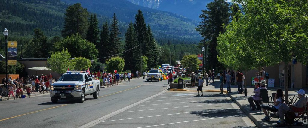 Canada Day in Valemount