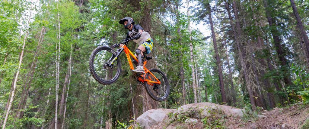 Mountain biking Valemount