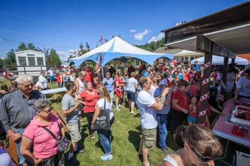 Canada Day festivities in Valemount