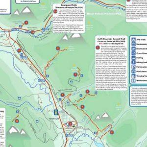 Valemount Hiking Trails Map