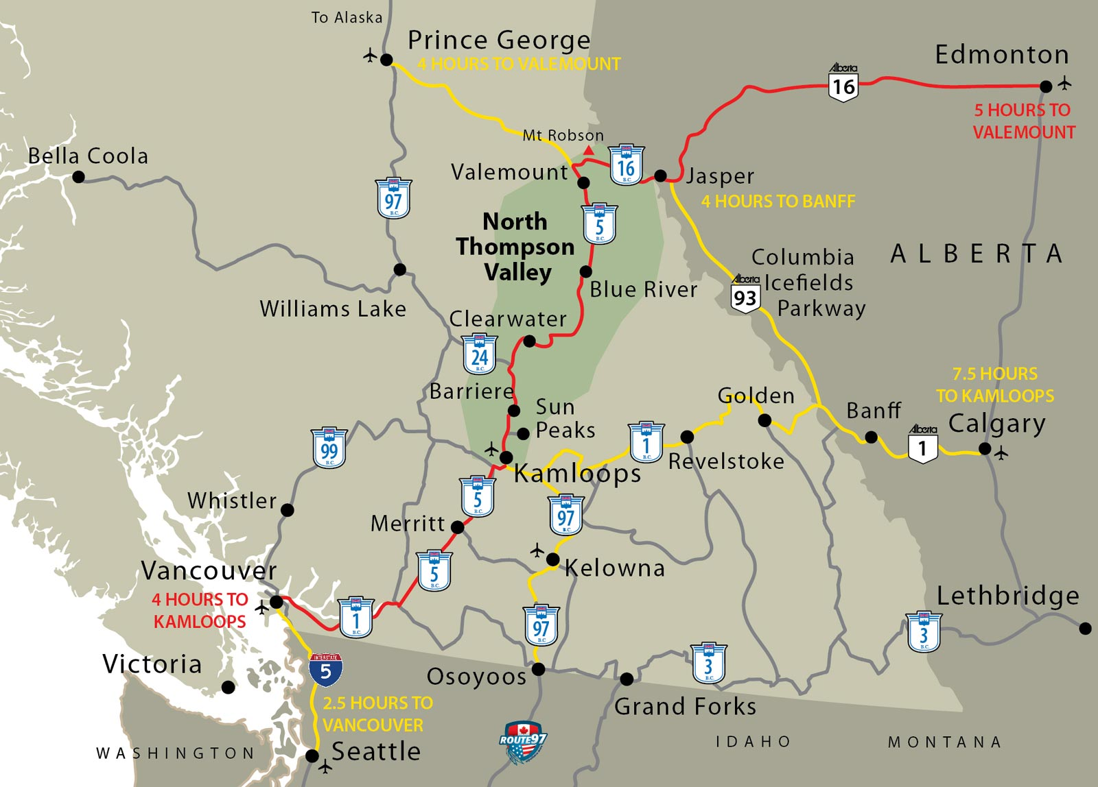 Map Of Canada Vancouver To Calgary.Top 10 Punto Medio Noticias Vancouver Canada Map Google