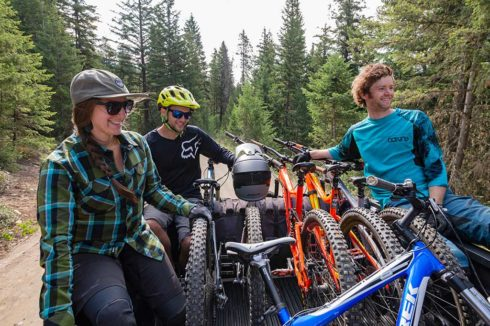 Great experience mountain biking in Valemount