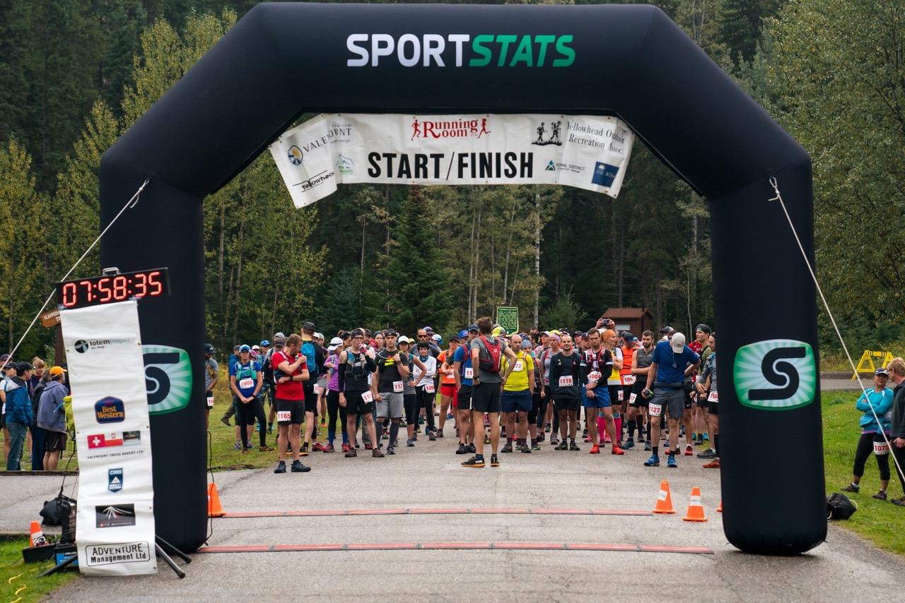 Mount Robson Marathon, Valemount, BC
