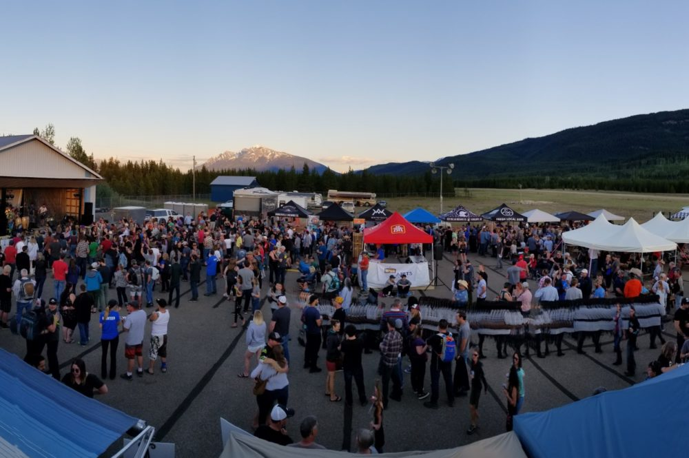 leave the driving to the shuttle buses as you enjoy vALEmount Craft Beer