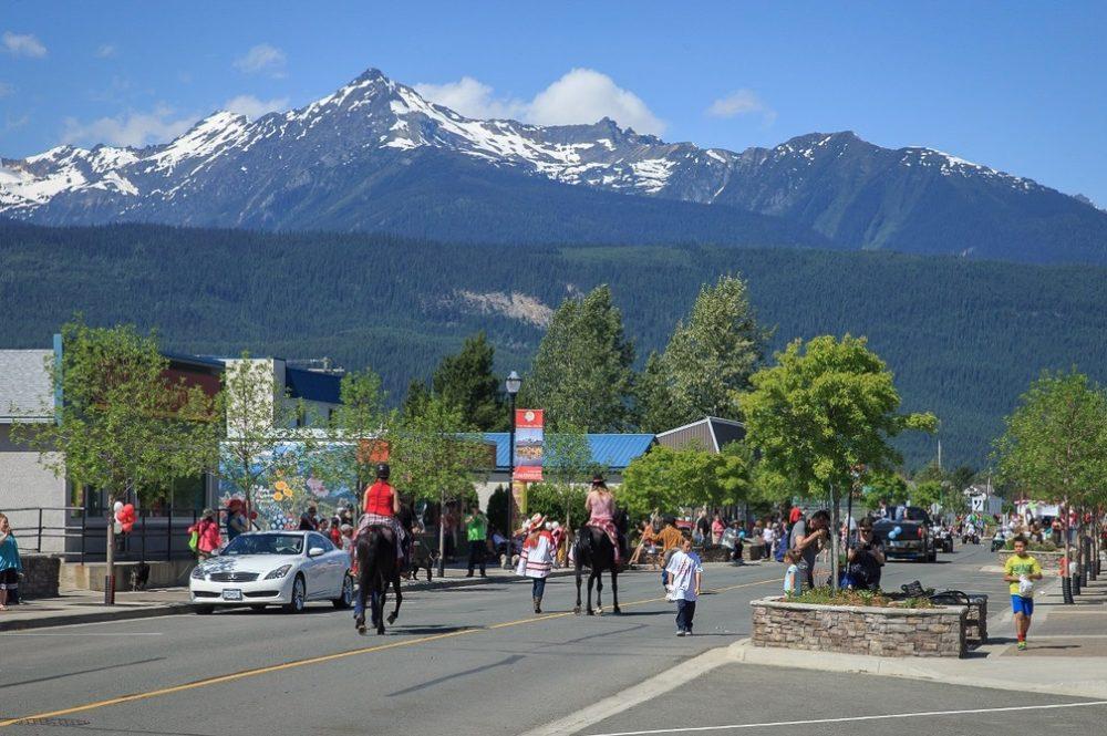 Valemountain Days Parade, Valemount, BC