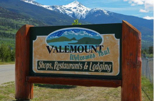 Welcome to Valemount, BC. Enjoy Valemount Days!